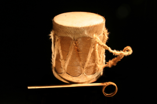 Frame drum, double membranophone