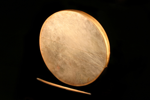 Frame Drums with two snares