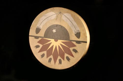 Painted Frame Drum