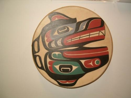 Raven Wolf Drum
