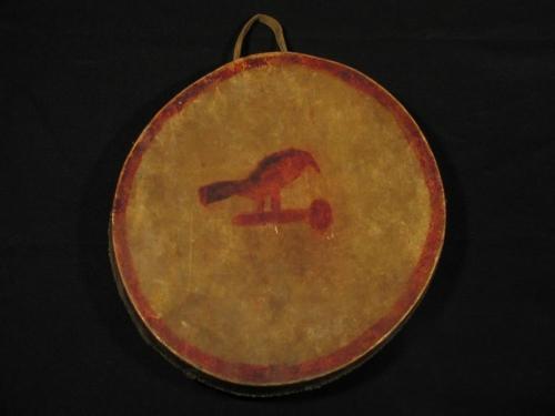 Ojibwe Bird Drum front